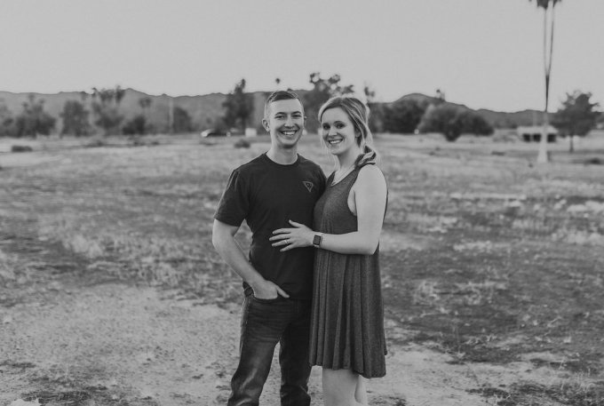 Justin & Catherine- Mini Desert Session